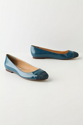 Birthstone Flats - Anthropologie.com :  luxe suede shimmery leather