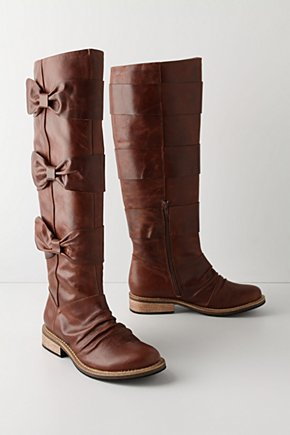 Bowtied-Beauty Boots - Anthropologie.com