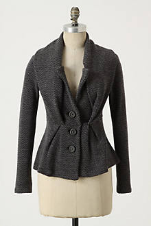 Herringbone Sweater Jacket - Anthropologie.com