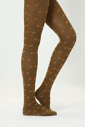 Foxy Tights - Anthropologie.com