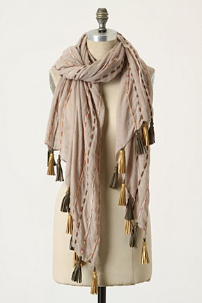Hot Air Scarf - Anthropologie.com :  cording wool tassels sweaterknit