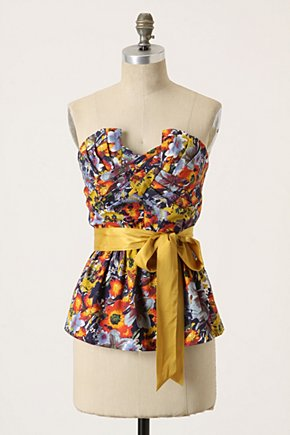 Wildflowers-In-Flight Top - Anthropologie.com