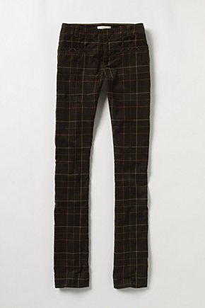 Aylesbury Corduroys - Anthropologie.com :  front pockets corduroy straight leg green
