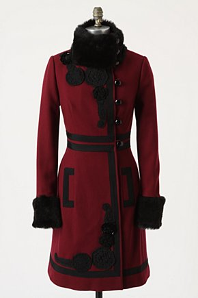 Andrick Coat - Anthropologie.com :  coat off center side pockets button closure