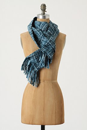 Plaid Spectrum Scarf - Anthropologie.com :  woven wooly scarf wrap