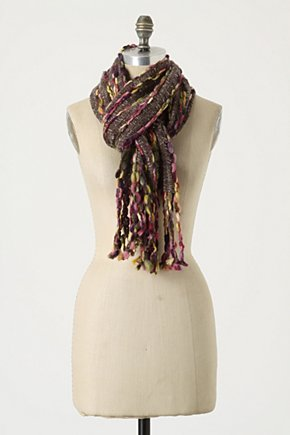 Sparkling Season Scarf - Anthropologie.com :  wool blend sweaterknit sparkly mohair
