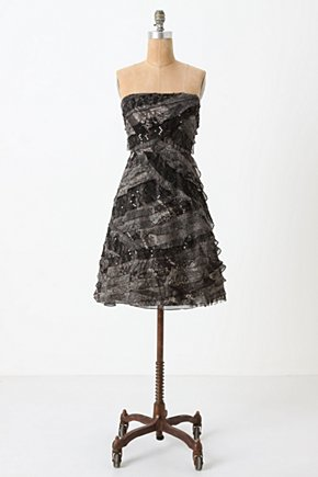 Curving Cloudcover Dress - Anthropologie.com :  party frock lace silk chiffon