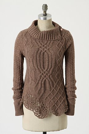 Cabled Pathways Pullover - Anthropologie.com from anthropologie.com