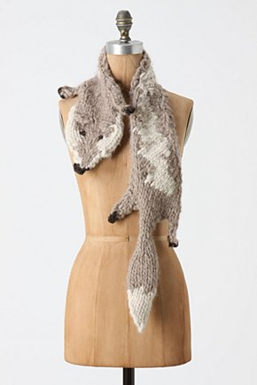 Shrewd Stitches Stole - Anthropologie.com :  wool whimsical neutral stole