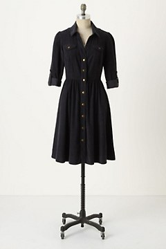 Refined Cord Shirtdress - Anthropologie.com :  shirtdress clothing dresses dress
