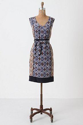Spliced Ikat Shift - Anthropologie.com :  dress
