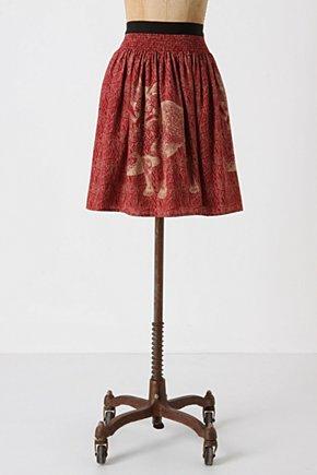 Wooded Hideaway Skirt-Anthropologie.com