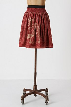 Wooded Hideaway Skirt - Anthropologie.com