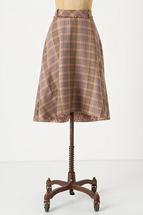 Tales Of Yesterday Skirt - Anthropologie.com