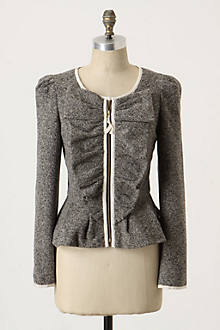 Half Pass Jacket - Anthropologie.com :  jacket ruffle tweed jacket jackets