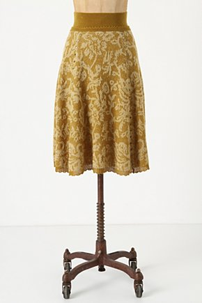 Hellebore Sweater Skirt - Anthropologie.com