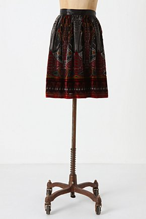 Resonating Metropolis Skirt-Anthropologie.com