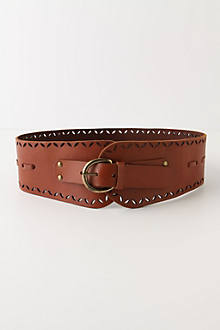 Stitched & Snipped Belt