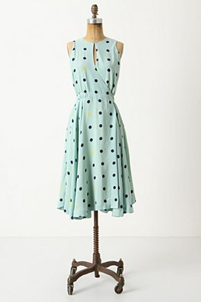 Across The Land Dress - Anthropologie.com :  party frock swingy polka dot the 50s