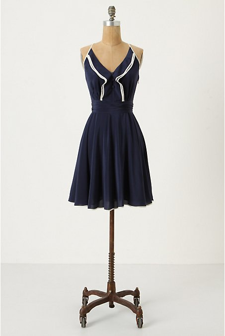 Anthropologie - Gull Wing Dress :  anthropologie gull wing dress vintage inspired retro dress vintage