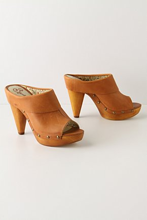 To Extremes Platform Mules - Anthropologie.com :  platform mules leather peep toe