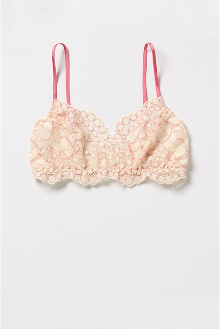 Sugared Grapefruit Bralette - Anthropologie.com :  grapefruit ribbon pullover adjustable