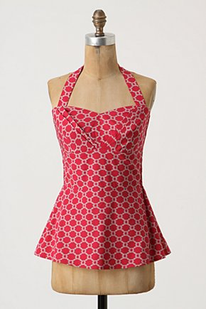 Cherry Drops Corset - Anthropologie.com