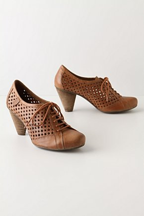 The Stars Come Out Oxfords - Anthropologie.com :  stars leather perforated oxfords