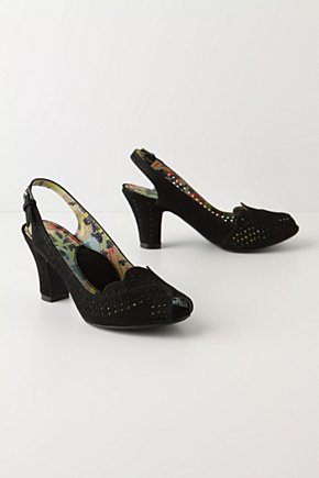 Punch Card Heels - Anthropologie.com