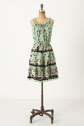 Tippi Dress - Anthropologie.com :  sky blue whimsical silk tiered