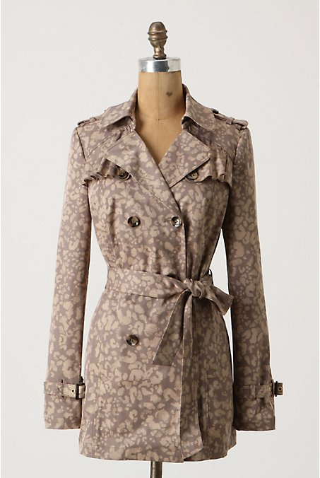 Anthropologie - Subtle Survival Trench