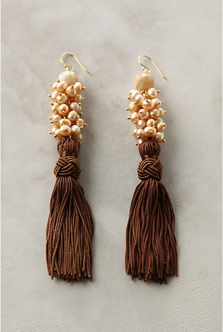 Anthropologie - Gothic Revival Earrings :  anthropologie gothic revival earrings accessory tassel earrings earrings