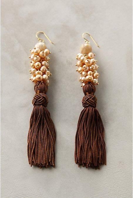 Anthropologie - Gothic Revival Earrings