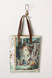 Original Still Life Bag, Paint Splash Village