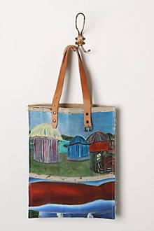 Original Still Life Bag, Hand & Huts