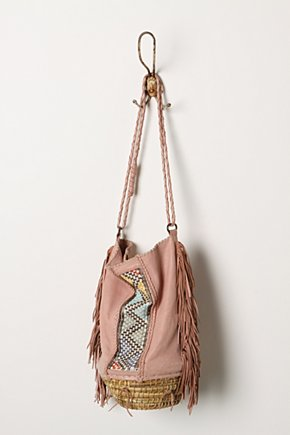 Fringed Basket Bag - Anthropologie.com from anthropologie.com