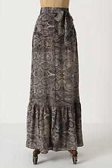 Imprint Fossil Maxi Skirt