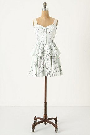 Up-Do Mini-Dress - Anthropologie.com :  button front tank straps side pockets canvas
