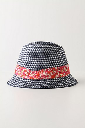 Ribbon Twined Hat - Anthropologie.com :  cherry blossom cheery ribbon scarf