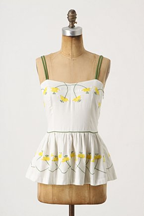 Radler Blouse - Anthropologie.com :  blouse buttercup yellow billowy