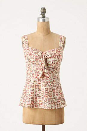 Mariposa Tank - Anthropologie.com from anthropologie.com