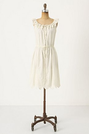 Taiyo Stalks Dress - Anthropologie.com :  bow tie embroidery summer dress sleeveless