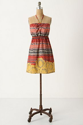 All Isles Chemise - Anthropologie.com :  patterned flowy silk red