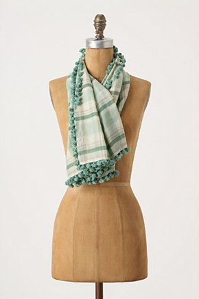 Tartan Boundary Scarf - Anthropologie.com :  tartan cotton airy scarf