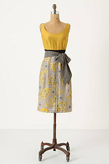 Blooming Goldenrod Dress