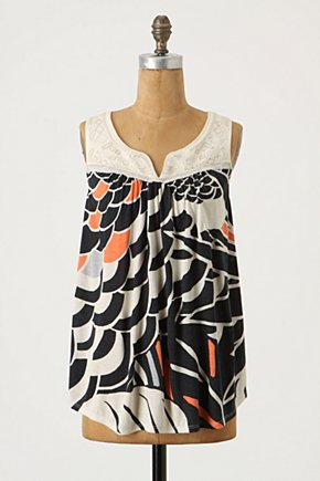 Huipil Tank - Anthropologie.com :  patterned embroidered bib tank top