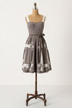 Annona Dress - Anthropologie.com :  frock ribbon stripes trompe loeil
