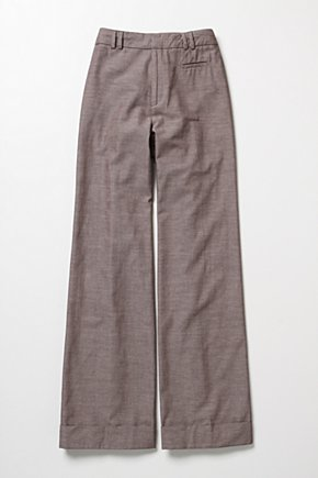 Looking Up Wide-Legs - Anthropologie.com :  high waist trousers front pockets wide leg