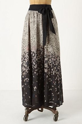 Falling Freesia Skirt - Anthropologie.com