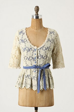 Wispy Cirrus Blouse - Anthropologie.com